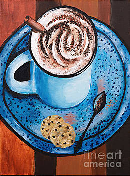 Cappucino Time by Art by Danielle