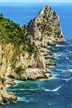 Capri seascape by Xavier Cardell