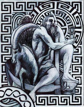 Capricorn / Zodiac / Saturn by Stephen Humphries