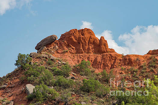 Bob Phillips - Caprock Canyon Red Rock Formation Two
