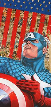 Captain America  by Anthony Jensen
