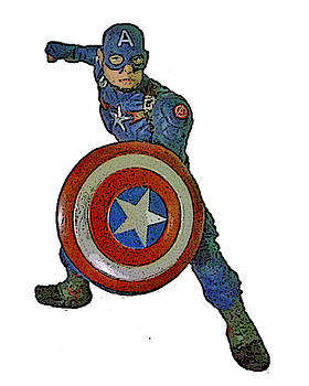 Captain America by Russell Pittock