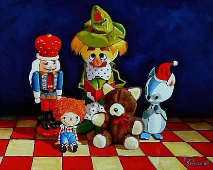Captain Candycorns Dollhouse Choir by Doug Strickland