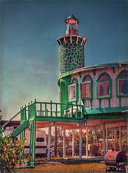 Captain Doug's Lighthouse by Hanny Heim