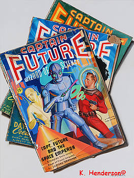Captain Future by K Henderson