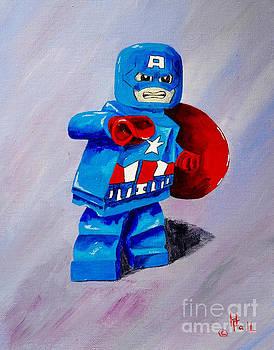 Captain Lego by Herschel Fall