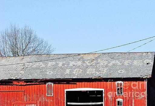 Captain M.V. Bates Barn by Michael Krek