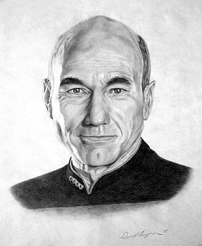 Captain Picard by Daniel Bergren
