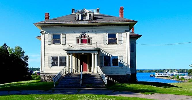 Captain's House Historical Building Abandoned Sault Sainte Marie Michigan by Mikel Classen