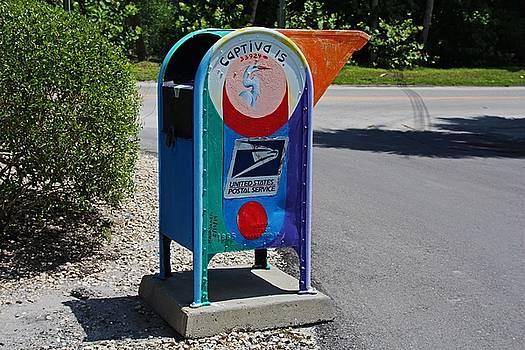 Captiva Island Mailbox- horizontal by Michiale Schneider