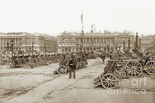 California Views Mr Pat Hathaway Archives - Captured German Artillery in Paris, France 1918