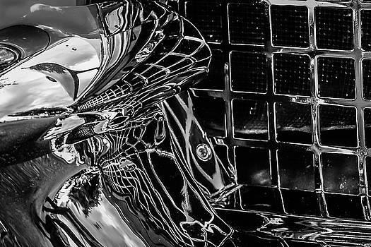 Car chrome abstract by Geoff Mckay