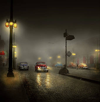 Mike Savad - Car - Down a lonely road 1940