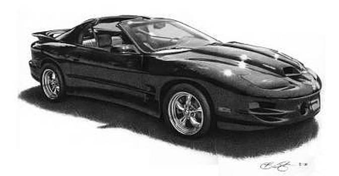 Car Drawing by Brian Duey