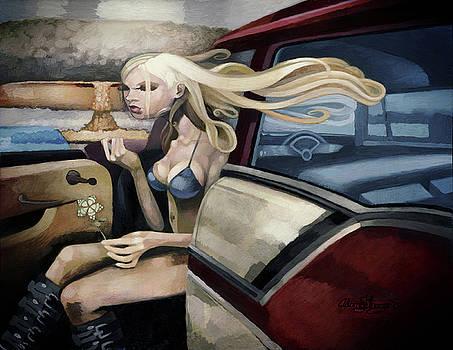 Car Girl by Adam Strange