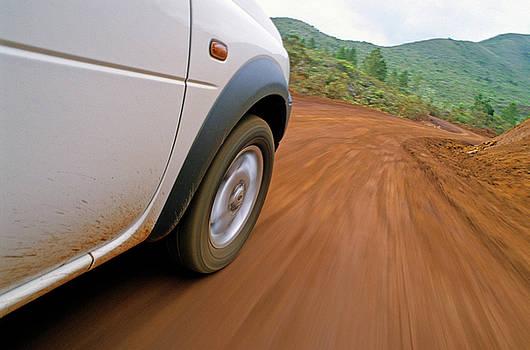 Sami Sarkis - Car on road in New Caledonia