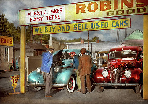 Mike Savad - Car - Used - The sales pitch 1939