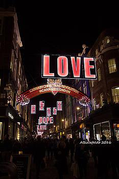 Carnaby Street LONDON Love by April Bielefeldt
