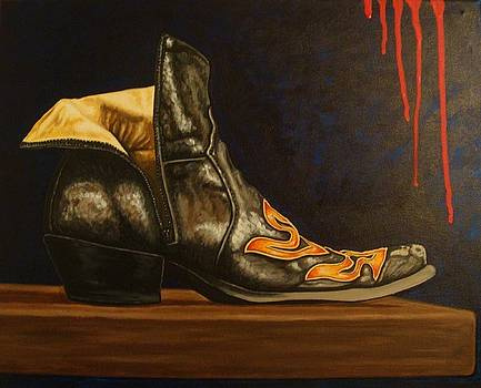 Caravaggio's Boot by Jaime Adrover