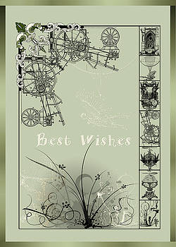 Card Best Wishes by Robert G Kernodle