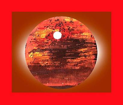Cardboard Sunset by Gabe Art Inc