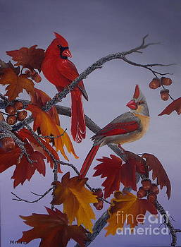 Cardinal Fall by Michael Allen