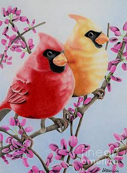 Cardinal Love  by Sharon Patterson