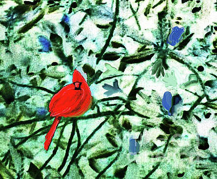 Cardinal Red by Jeannie Allerton