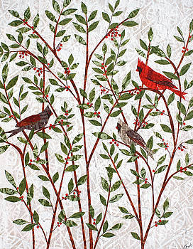 Cardinals by Janyce Boynton