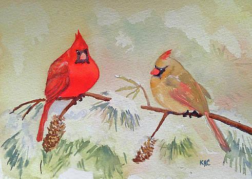 Cardinals by Katie Cornog