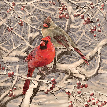 Cardinals by Laurie Musser