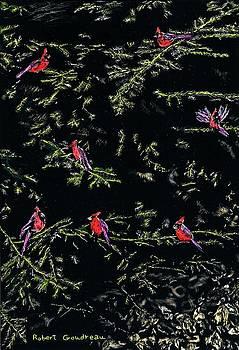 Cardinals by Robert Goudreau
