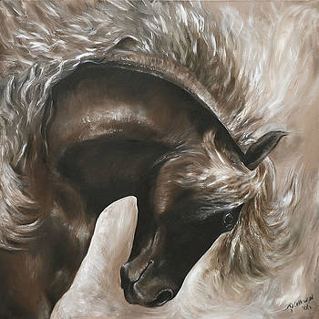Careless and Free by Paula Collewijn -  The Art of Horses