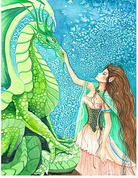 Caressing the Dragon by Christine Winters