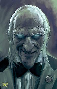 Caretaker of Dracula's Castle Mark Spears Monsters by Mark Spears