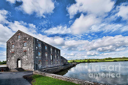 Carew Mill Pembrokeshire by Steve Purnell