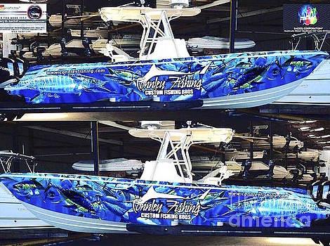 Carey Chen Boat Wraps by Carey Chen