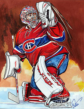 Carey Price by Dave Olsen