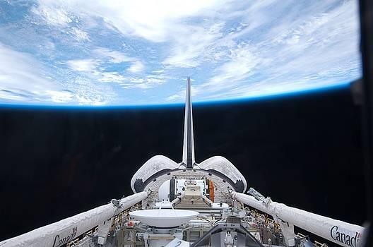 Artistic Panda - Cargo bay of Atlantis on STS-132
