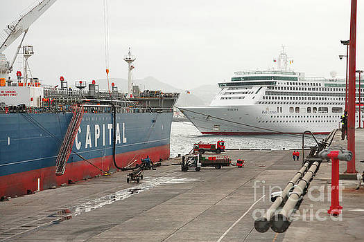 Gaspar Avila - Cargo ship and cruise ship