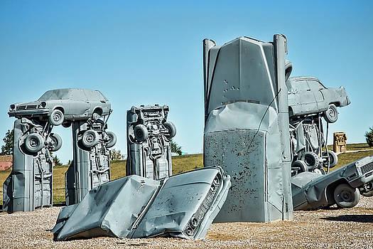 Carhenge Pillars by Steven Bateson