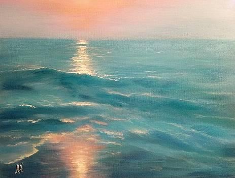 Caribbean Blue  by Marina Hanson