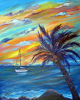 Caribbean Calm by Barbara Petersen