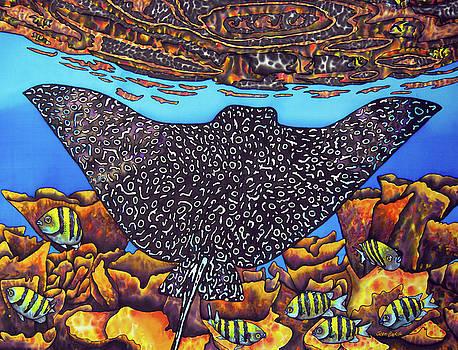 Caribbean Eagle Ray by Daniel Jean-Baptiste