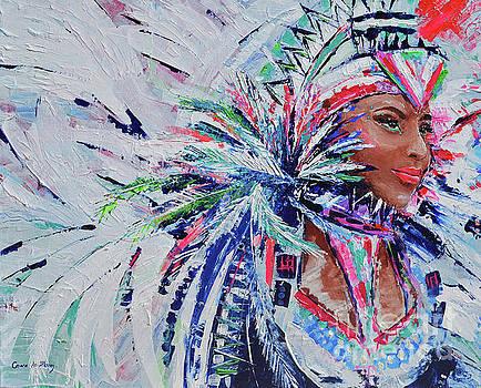 Caribbean Godess by Paola Correa de Albury