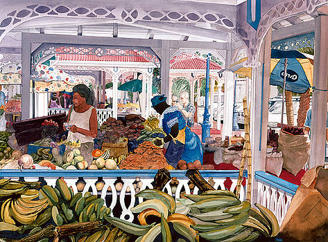 Caribbean Market by Douglas Teller