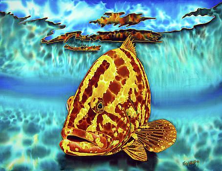 Caribbean Nassau Grouper  by Daniel Jean-Baptiste