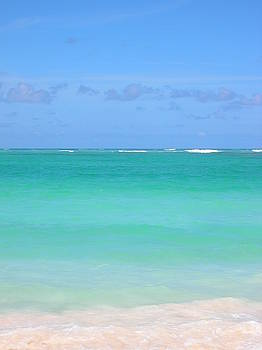 Caribbean water by Jessica Hoover