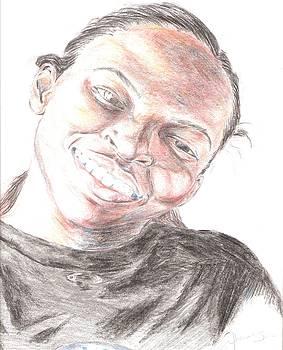 Caricature Of Shaunette by Jharoam Welz