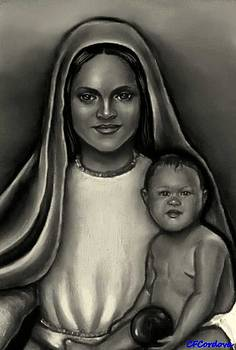 Caridad del Cobre-Lady of Charity by Carmen Cordova